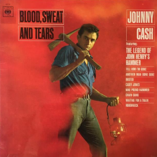 Johnny Cash - Blood, Sweat And Tears (LP) (G+/G++)